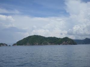 Tortuga Island! I mean I guess it looks like a turtle...