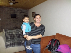 Natalia with baby Niko!
