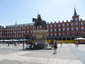La Plaza Mayor!!