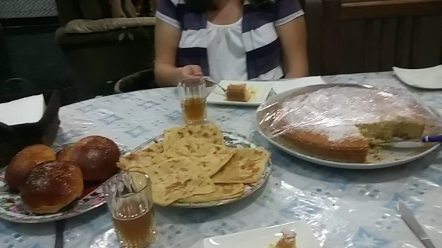 Delicious pre dinner/breakfast spread