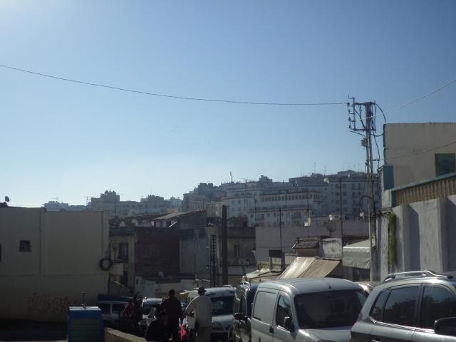 Random street in Tangier