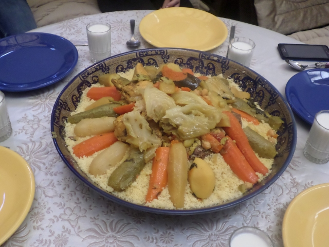 Friday couscous lunch!