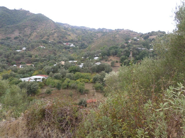 On our hike to one of the remote houses in the mountain village