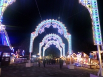 Part of the Winter Wonderland in Hyde Park