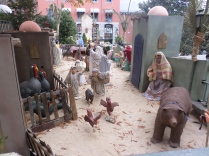 They nearby town was fully of nativity figures...they were literally throughout the entire town