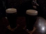 First round of Guinness in the country