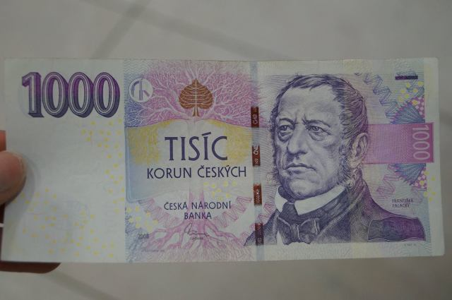 Czech money!